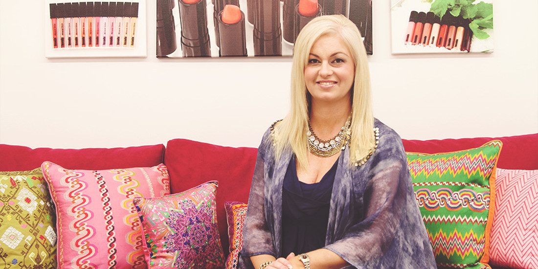 Fiona Neale, CEO and founder of Issada Cosmetics