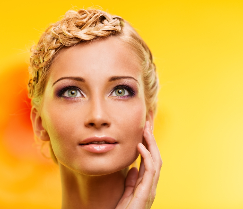 Laser and LED therapies are used in facial rejuvenation