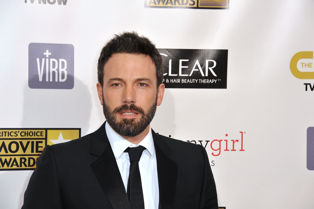 A bearded Ben Affleck
