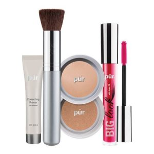 The Best Sellers Kit contains Correcting Primer, 4-in-1 Pressed Mineral Makeup SPF15, Mineral Glow bronzer and Big Look Mascara. Available in Light, Light Tan, Blush Medium and Golden Medium. RRP $59