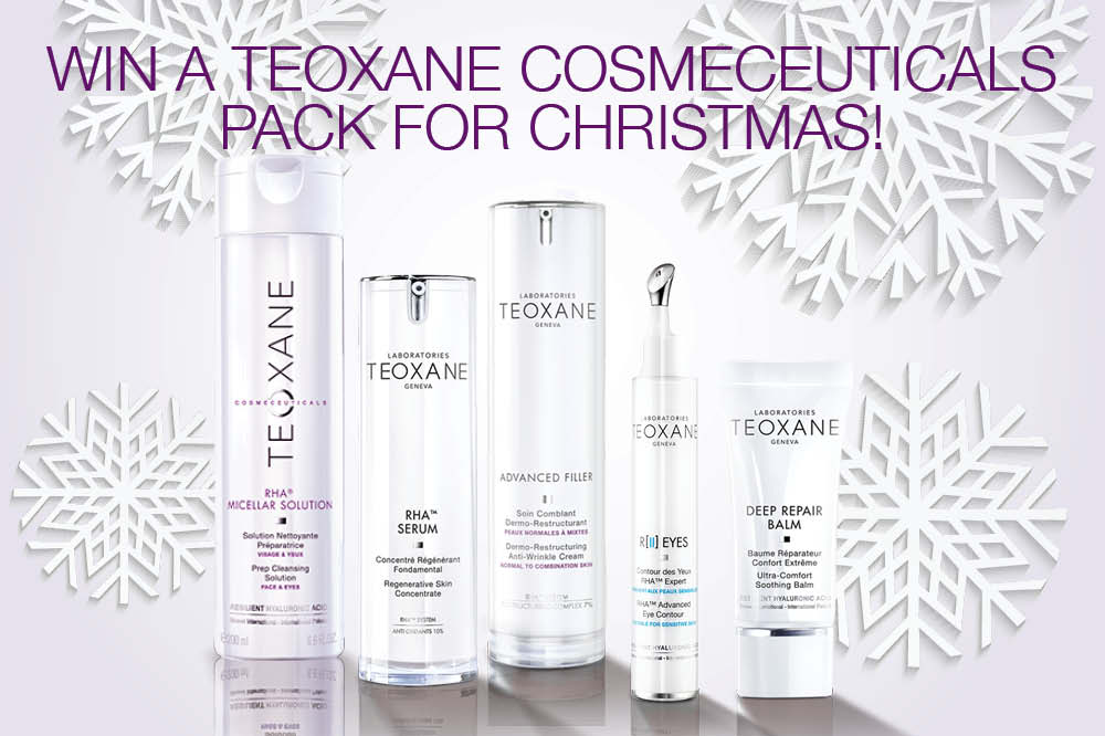 Win A Teoxane Cosmeceuticals Pack With Over 500 Worth Of